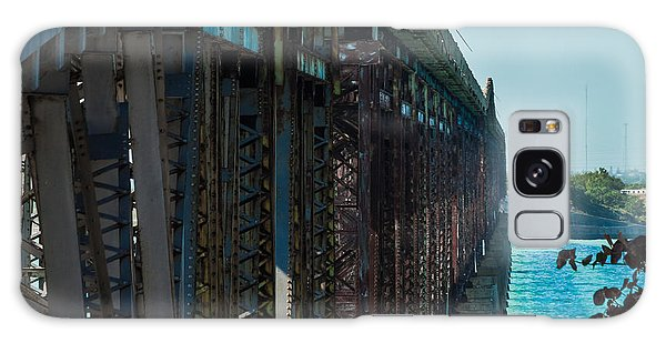 Bahia Honda Bridge Patterns Galaxy Case
