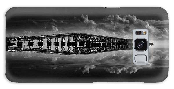 Bahia Honda Bridge Reflection Galaxy Case by Kevin Cable