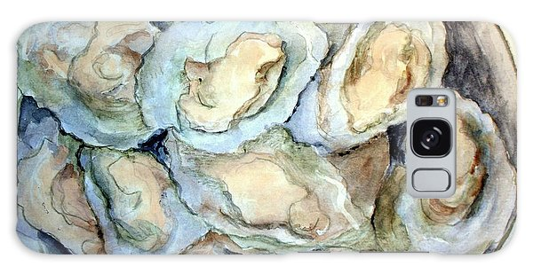 Baked Oysters In Shells Galaxy Case by Carol Grimes