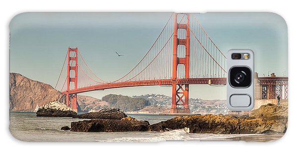 Baker Beach Galaxy Case