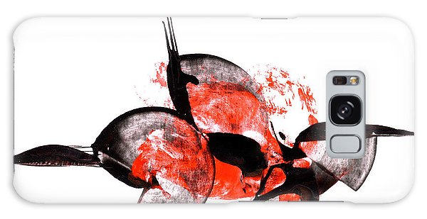 Balance - Modern Abstract Art Painting On Paper Galaxy Case