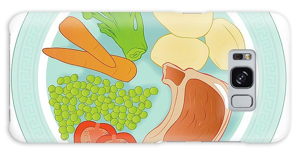 Balanced Meal Galaxy Case by Jeanette Engqvist
