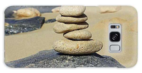 Balancing Rocks Galaxy Case by Denise Pohl