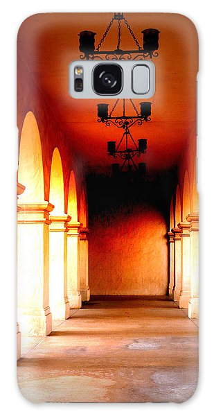 Balboa Park At Sunrise Xl Galaxy Case