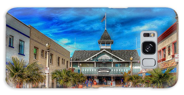 Balboa Pavilion Galaxy Case by Jim Carrell
