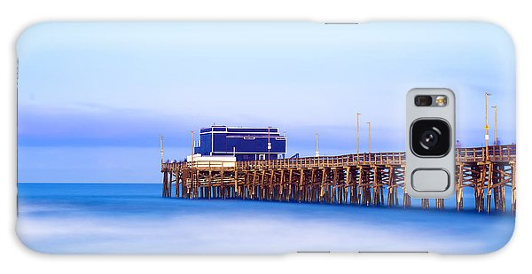 Balboa Pier At Sunrise Galaxy Case