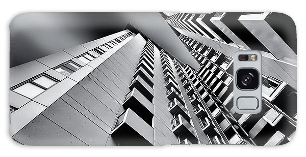 Tall Galaxy Case - Balconies by Gerard Jonkman
