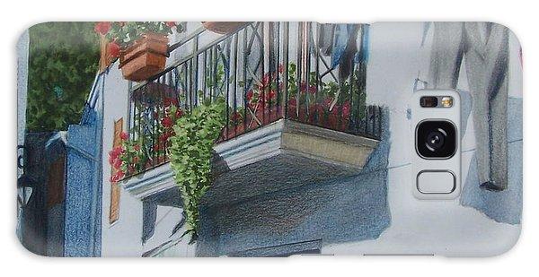 Balcony In Maratea Galaxy Case