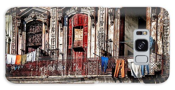 Balcony In Old Havana  Galaxy Case