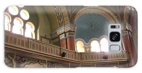 Balcony Of Sofia Synagogue Galaxy Case