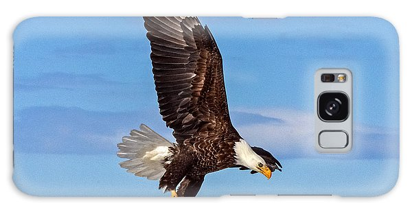 Bald Eagle Comming Down Galaxy Case