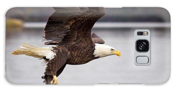 Bald Eagle Flight Galaxy Case