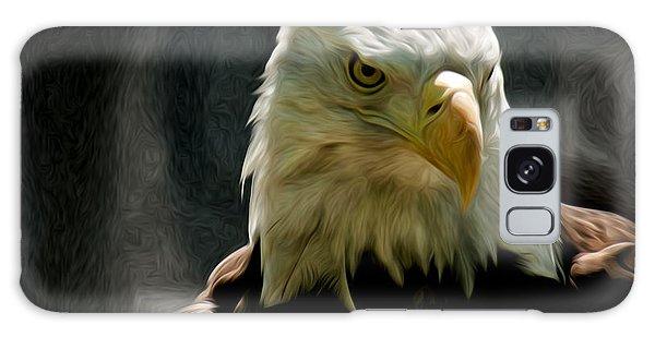 Bald Eagle Giving You That Eye Galaxy Case