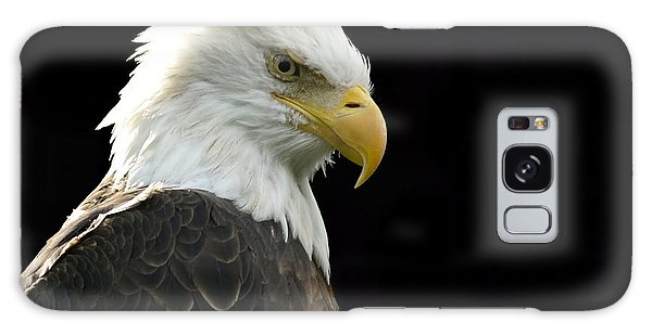 Bald Eagle Galaxy Case by Larry Bohlin