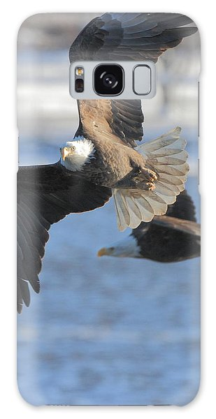 Bald Eagle Pair Galaxy Case