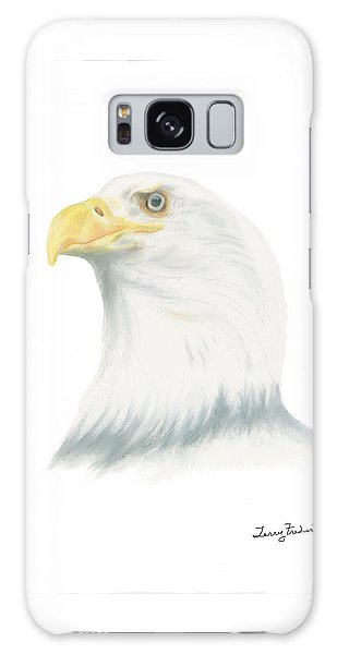 Bald Eagle Galaxy Case by Terry Frederick