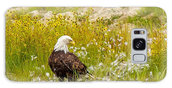 Bald Eagle  Galaxy Case by Trace Kittrell