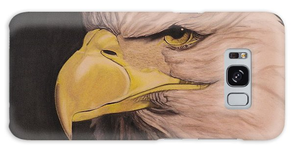 Bald Eagle Galaxy Case by Wil Golden