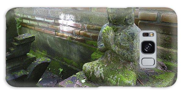 Balinese Praying Figure Galaxy Case