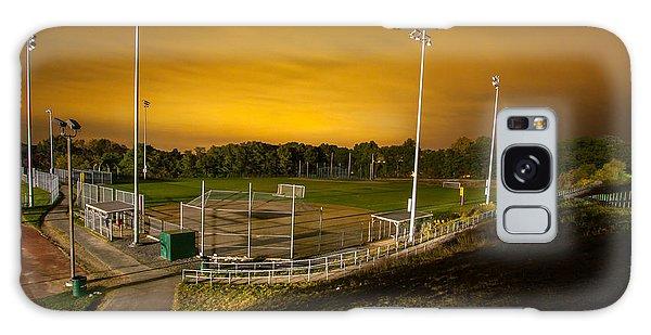 Ball Field At Night Galaxy Case