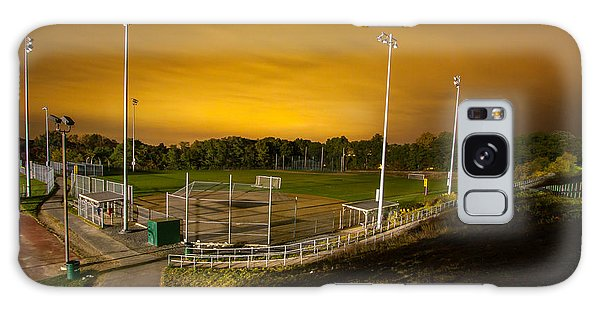 Ball Field At Night Galaxy Case