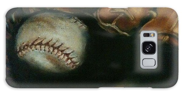 Ball In Glove Galaxy Case