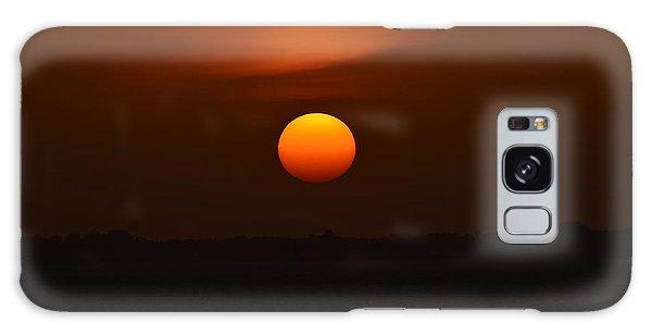 Ball Of Fire Galaxy Case by Debra Martz