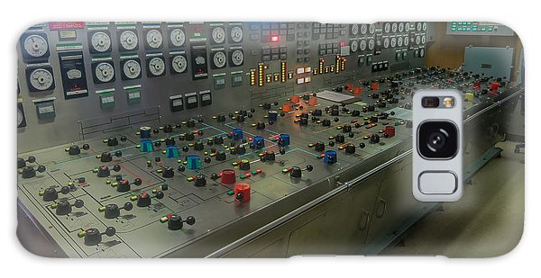 Ballast Control Panel Of The Ocean Valiant Semi Submersible Drilling Rig Galaxy Case by Gregory Daley  PPSA