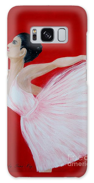 Ballerina.  Grace. Inspirations Collection Galaxy Case by Oksana Semenchenko