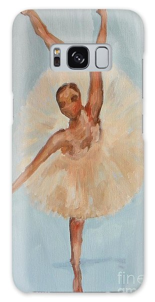 Ballerina Galaxy Case by Marisela Mungia