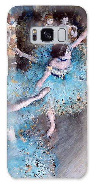 Ballerina On Pointe  Galaxy Case
