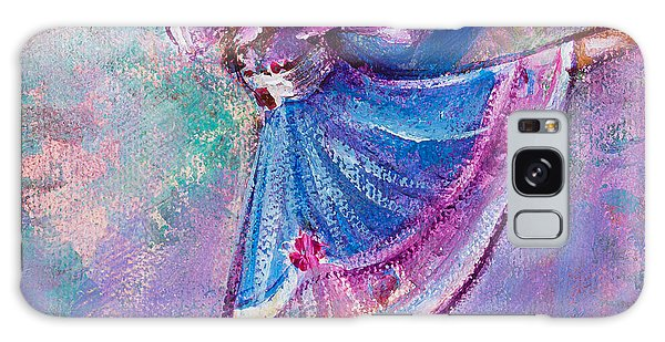 Galaxy Case featuring the painting Ballerina by TM Gand