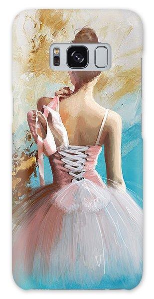 Ballerina's Back  Galaxy Case