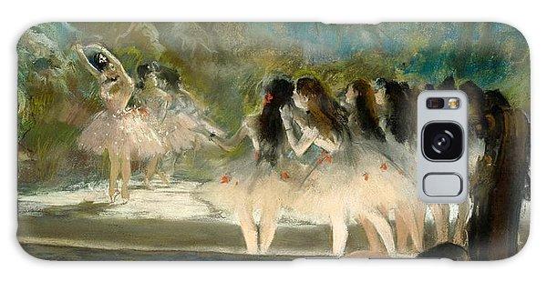 Art Institute Galaxy Case - Ballet At The Paris Opera by Edgar Degas