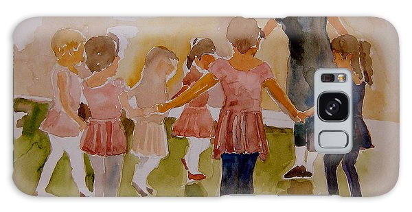 Ballet Class Galaxy Case by Jeffrey S Perrine