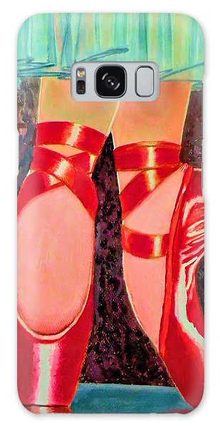 Ballet Slippers Galaxy Case