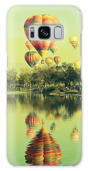 Balloon Classic Galaxy Case by Michelle Frizzell-Thompson