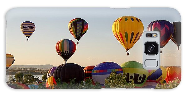 Balloon Festival Galaxy Case