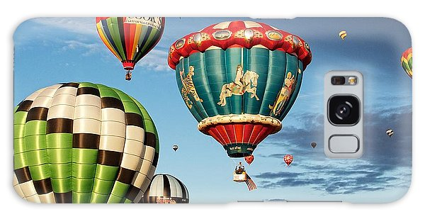 Balloons Away Galaxy Case by Dave Files