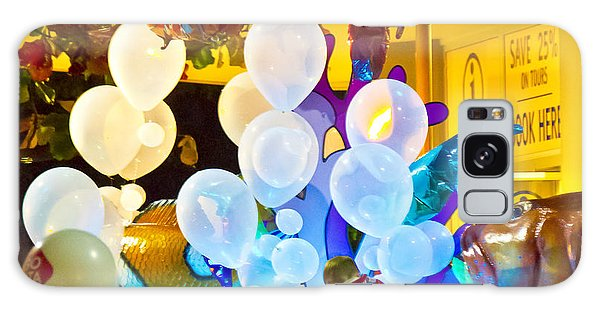 Galaxy Case featuring the photograph Balloons by Debbie Cundy