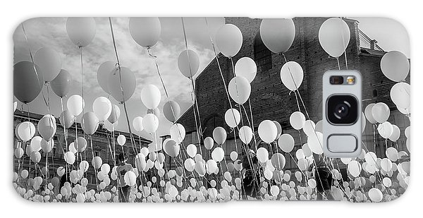 Celebration Galaxy Case - Balloons For Charity by Giorgio Lulli