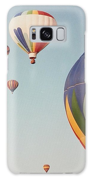 Balloons High In The Sky Galaxy Case by Belinda Lee