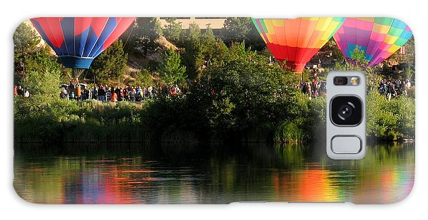 Balloons Over Bend Oregon Galaxy Case by Kevin Desrosiers