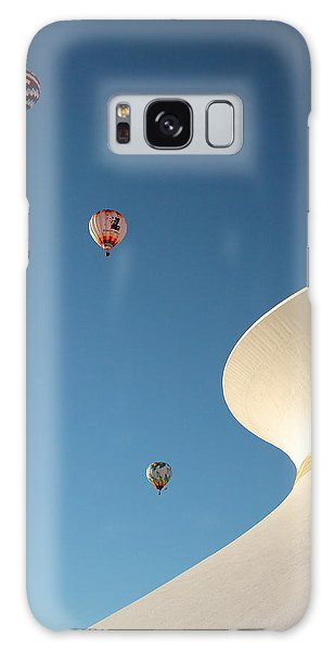 Balloons Race Over The Planetarium Galaxy Case by Scott Rackers