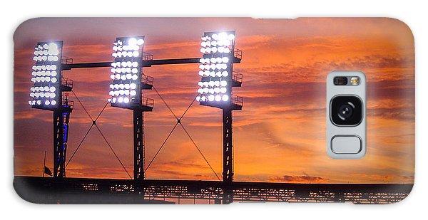 Ballpark At Sunset Galaxy Case