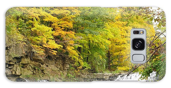 Balls Falls In Autumn Color Galaxy Case