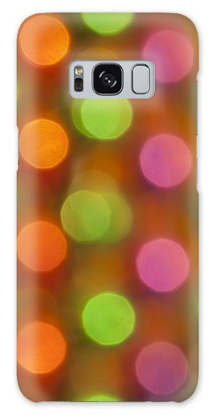 Balls Of Color Galaxy Case by David Lester