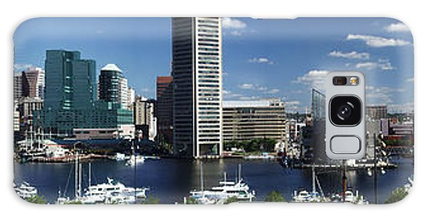 Baltimore Inner Harbor Panorama Galaxy Case