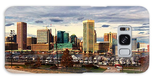 Baltimore Inner Harbor Skyline Panorama Galaxy Case