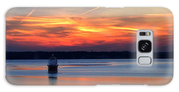 Baltimore Light At Gibson Island Galaxy Case by Bill Swartwout